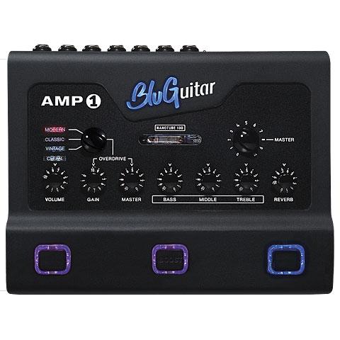 Gitaar Versterkertop BluGuitar AMP1 Iridium Edition