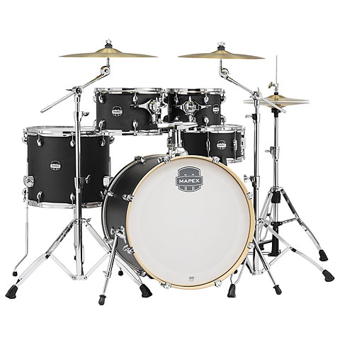 "Schlagzeug Mapex Mars Pro 22"" Midnight Black Shell-Set"