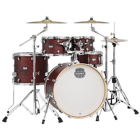 "Schlagzeug Mapex Mars Pro 22"" Cherry Red Shell-Set"