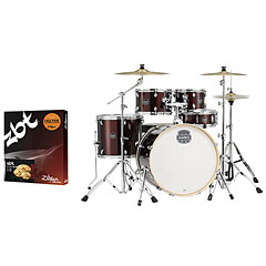 "Mapex Storm 22"" Dark Red LTD + ZBT Bundle « Batterie acoustique"