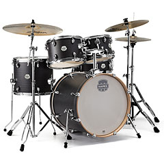 "Mapex Storm 22"" Ebony Blue Grain Silent Practice Super Mesh Kit « Batterie acoustique"