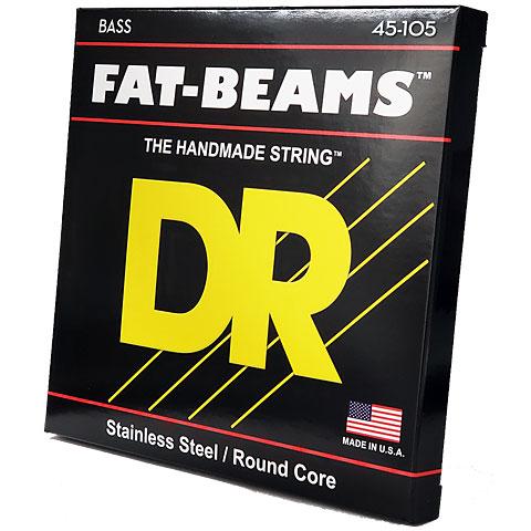 Cuerdas bajo eléctrico DR Fat-Beams FB45, 045-100