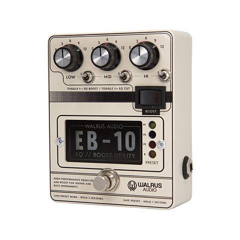 Walrus Audio EB-10 Cream