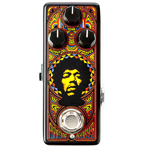Pedal guitarra eléctrica Dunlop Authentic Hendrix '69 Psych Band of Gypsys