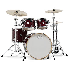 "DW Design 22"" Cherry Stain Shell-Set 4-Pcs. « Schlagzeug"