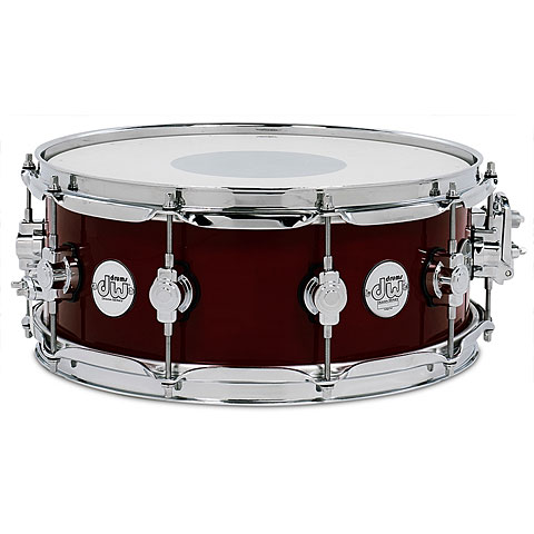"""Snare Drum DW Design 14"""" x 5,5"""" Cherry Stain Snare"""