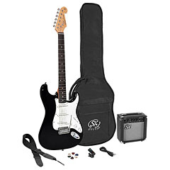 SX Guitars SX SE1SK-BK « Elektrische Gitaar Set
