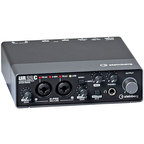 Interface de audio Steinberg UR22C