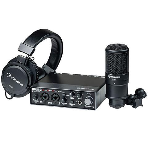 Interface de audio Steinberg UR22C Recording Pack