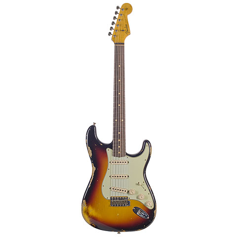 Fender Custom Shop 1960 Relic Stratocaster, 3TS « Guitarra eléctrica