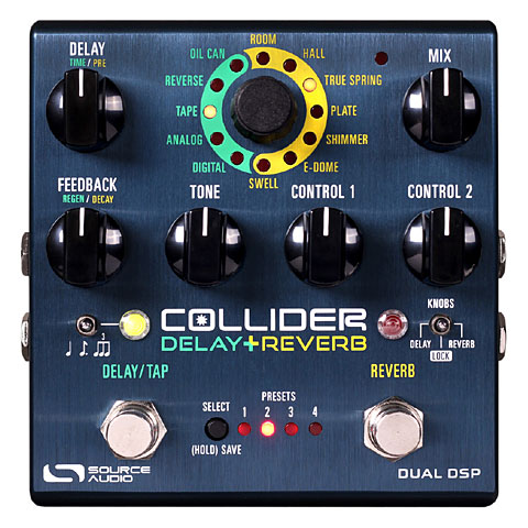 Pedal guitarra eléctrica Source Audio Collider