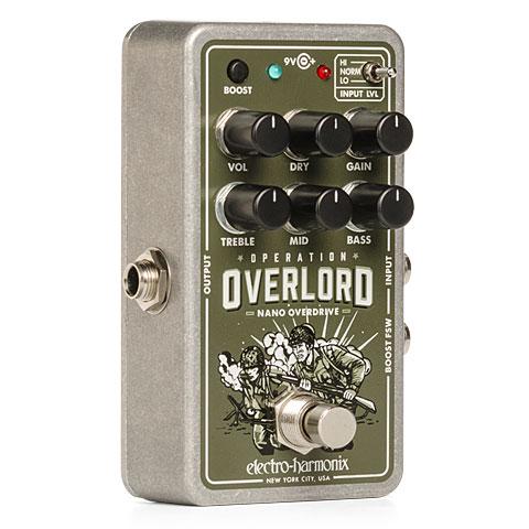 Pedal guitarra eléctrica Electro Harmonix Nano Operation Overlord