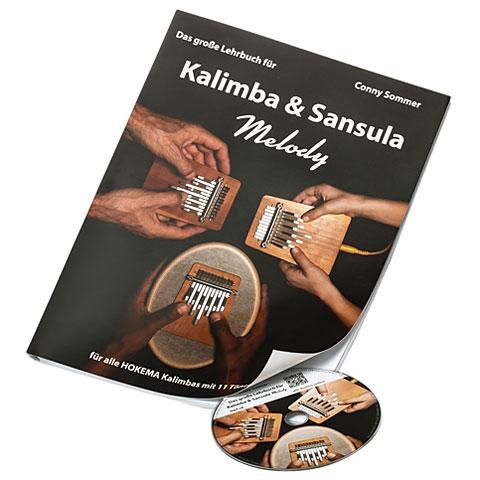 Manuel pédagogique Hokema Das große Lehrbuch für Kalimba & Sansula Melody
