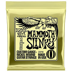 Ernie Ball Mammoth Slinky 2214 .012-062 « Electric Guitar Strings