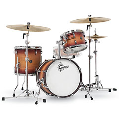 "Gretsch Drums Renown Maple 18"" Satin Tobacco Burst Shellset « Batterie acoustique"