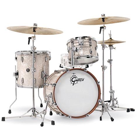 """Schlagzeug Gretsch Drums Renown Maple 18"""" Vintage Pearl Shell Set"""
