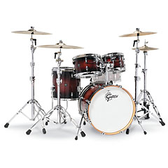 "Gretsch Drums Renown Maple 20"" Cherry Burst Shell Set « Batterie acoustique"