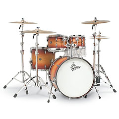 "Gretsch Drums Renown Maple 22"" Satin Tobacco Burst Shell Set « Batterie acoustique"