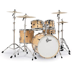 "Gretsch Drums Renown Maple 22"" Gloss Natural Shell Set « Batterie acoustique"