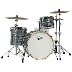 "Gretsch Drums Renown Maple 24"" Silver Oyster Pearl Shell Set « Batterie acoustique"