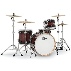 "Gretsch Drums Renown Maple 24"" Cherry Burst Shell Set « Batterie acoustique"
