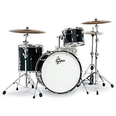 "Gretsch Drums Renown Maple 24"" Piano Black Shell Set « Batterie acoustique"
