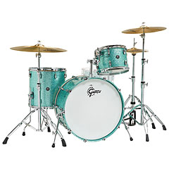 "Gretsch Drums Renown Maple 24"" Turquoise Premium Sparkle Shell Set « Batterie acoustique"