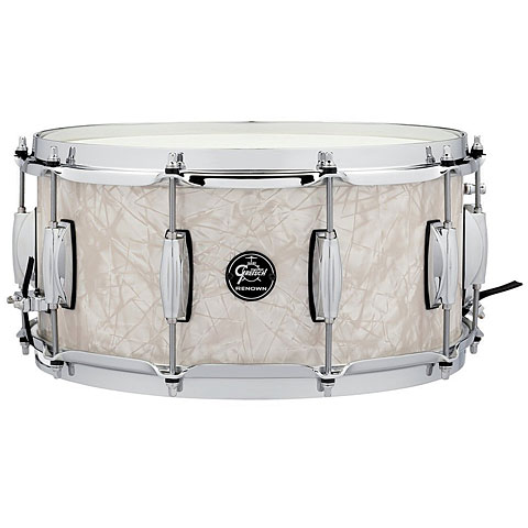 """Caisse claire Gretsch Drums Renown Maple 14"""" x 6,5"""" Vintage Pearl Snare Drum"""