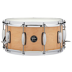 "Gretsch Drums Renown Maple 14"" x 6,5"" Gloss Natural Snare Drum « Caisse claire"