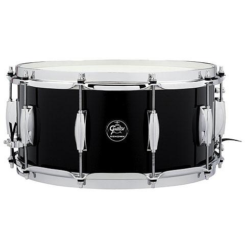 "Gretsch Drums Renown Maple 14"" x 6,5"" Piano Black Snare Drum"