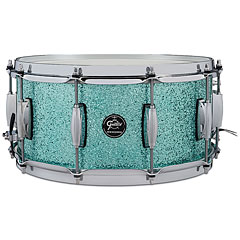 "Gretsch Drums Renown Maple 14"" x 6,5"" Turquoise Premium Sparkle Snare « Snare Drum"