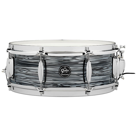 """Snare Drum Gretsch Drums Renown Maple 14"""" x 5"""" Silver Oyster Pearl Snare Drum"""
