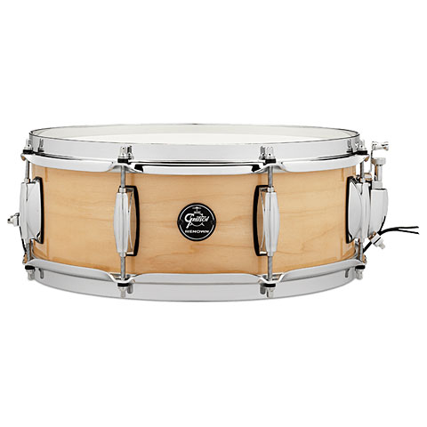 """Caja Gretsch Drums Renown Maple 14"""" x 5,5"""" Gloss Natural Snare Drum"""