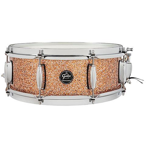 "Snare Drum Gretsch Drums Renown Maple 14"" x 5"" Copper Premium Sparkle Snare"