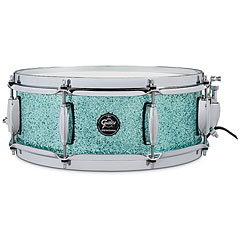 "Gretsch Drums Renown Maple 14"" x 5"" Turquoise Premium Sparkle Snare « Snare Drum"