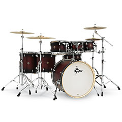 "Gretsch Drums Catalina Maple 22"" Satin Deep Cherry Burst 7 Pcs. Shellset « Drumstel"