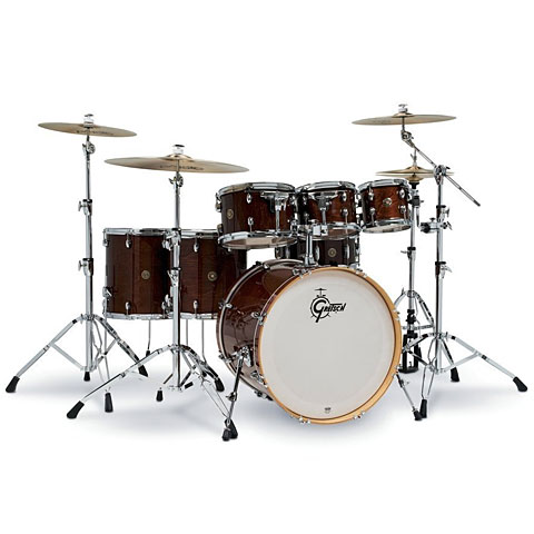 "Batería Gretsch Drums Catalina Maple 22"" Walnut Glaze 7 Pcs. Shellset"