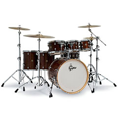 "Gretsch Drums Catalina Maple 22"" Walnut Glaze 7 Pcs. Shellset « Drumstel"