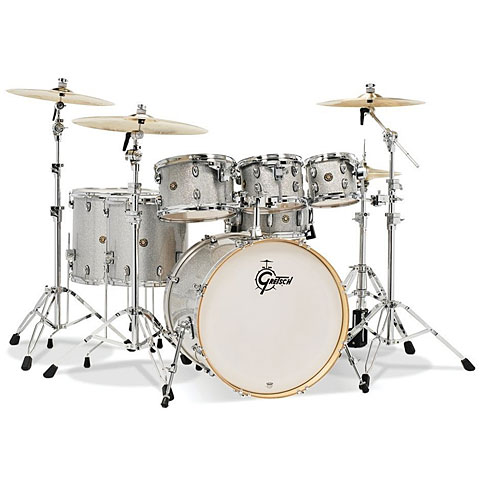 "Gretsch Drums Catalina Maple 22"" Silver Sparkle 7 Pcs. Shellset"
