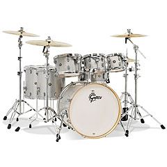 "Gretsch Drums Catalina Maple 22"" Silver Sparkle 7 Pcs. Shellset « Drumstel"