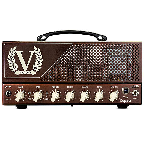 Topteil E-Gitarre Victory VC35 The Copper