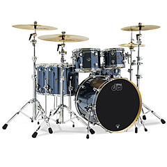 "DW Performance Finish Ply 22"" Chrome Shadow LTD Shell Set « Batterie acoustique"