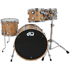 "DW Collector's Satin Oil 22"" Cherry/Spruce Shell Set « Batería"