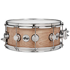 DW Collector's Satin Oil 14'' x 6,5'' Cherry Spruce Snare Drum « Caisse claire