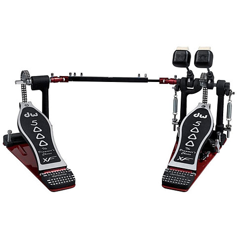Pedal de bombo DW 5000 Series Delta IV Accelerator Double Long Board Bass Drum Pedal
