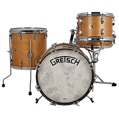 "Gretsch Drums USA Broadkaster 18"" Satin Classic Maple Vintage Shell Set « Batterie acoustique"