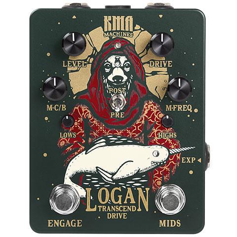 Effets pour guitare électrique KMA Machines Logan Transcend Drive