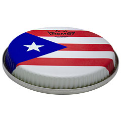 "Remo R-Series Skyndeep Bongo Head 8,50"" Puerto Rican Flag Graphic « Parches percusión"