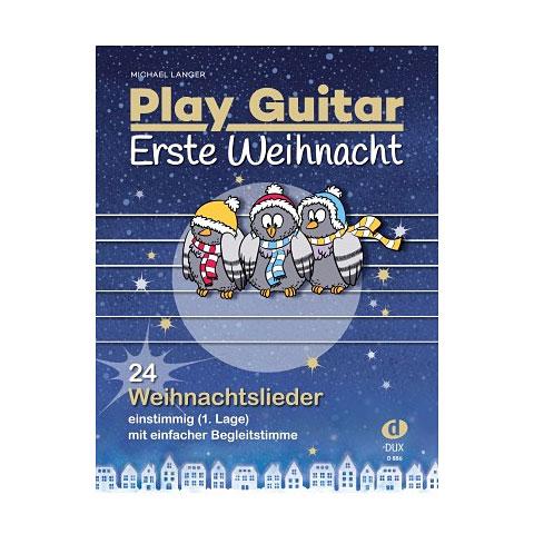 Notenbuch Dux Play Guitar Erste Weihnacht