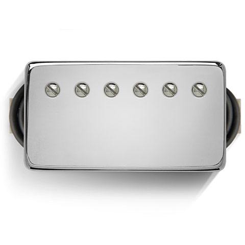 Pastillas guitarra eléctr. Bare Knuckle The Mule Covered Set Chrome